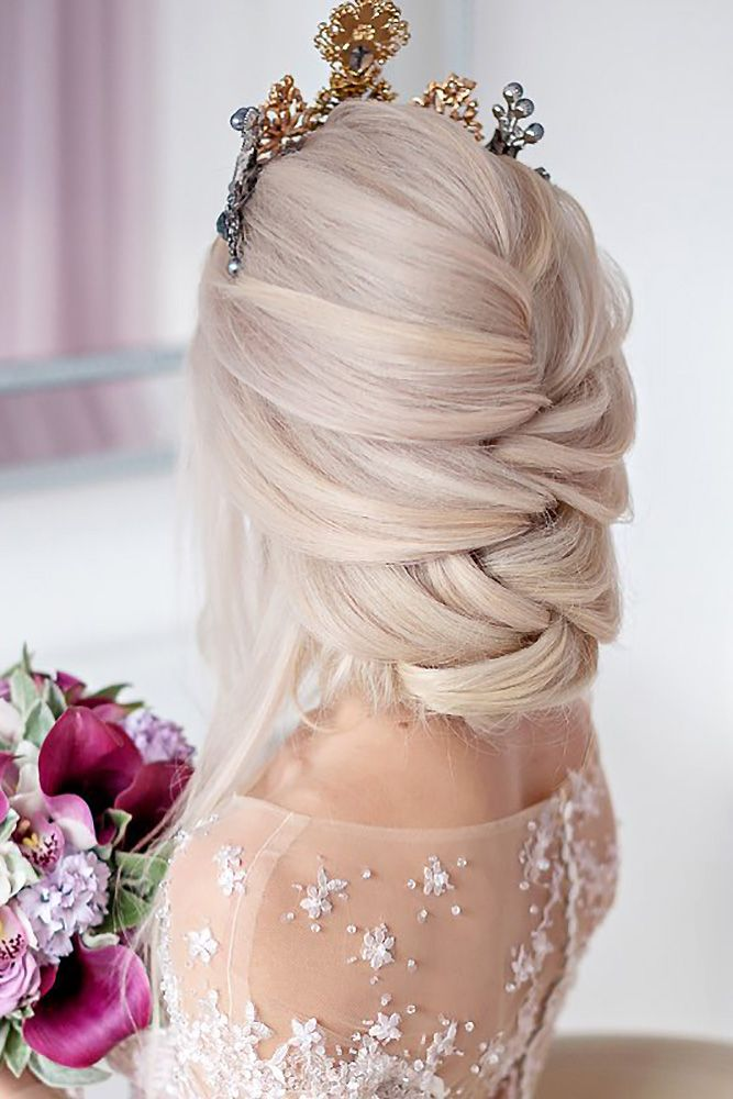 30 Greek Wedding Hairstyles For The Divine Brides | Mr &Mrs