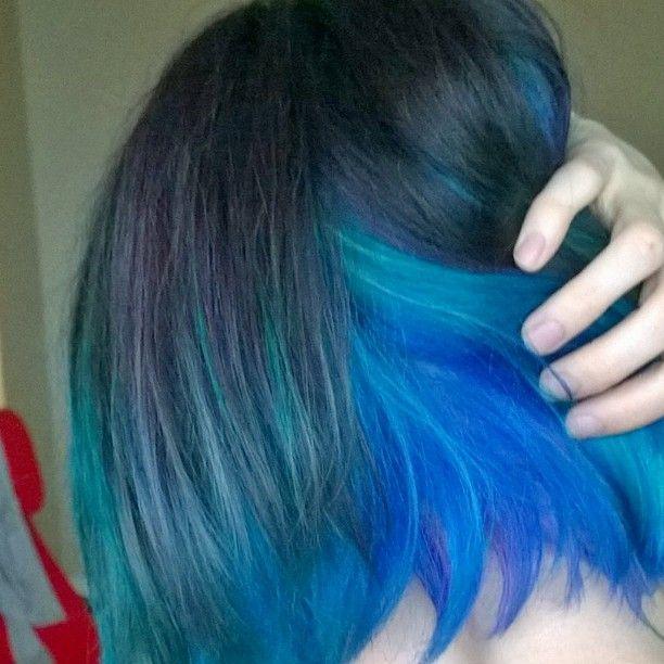 blue hair dyes manic panic