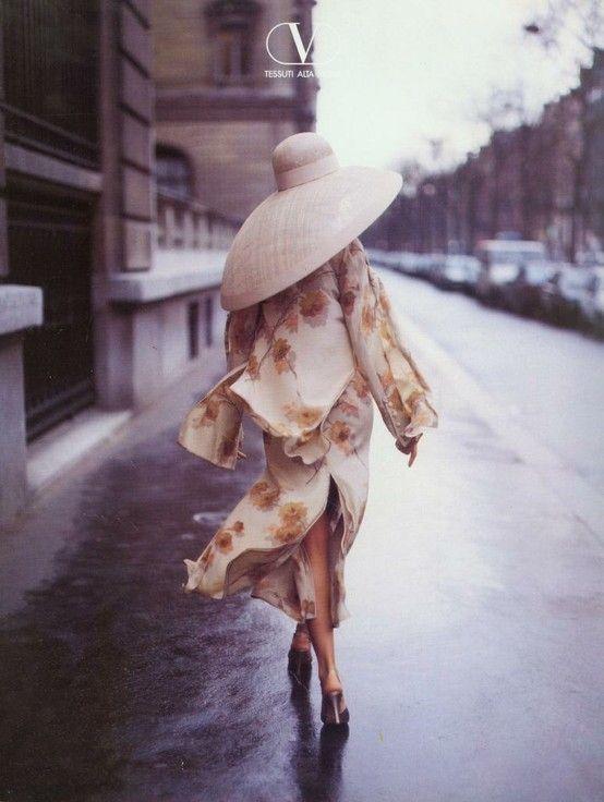Tricia Helfer in Valentino - 1994 - Photo by Walter Chin - Vintage Valentino…