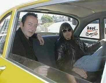 Joe and Marky Ramone