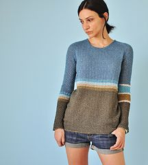 Orza Pullover by La Maison Rililie on ravelry. #knitting #pattern #knitindie  This is going to be a 'must knit' for me ~ Rililie has designed an exquisite knit here, both in construction and pattern detail plus the end result, wear-ablility.  Fabulous