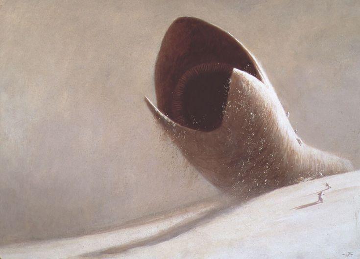 John Schoenherr - Rare Dune art from Omni reveals Frank Herbert's original vision