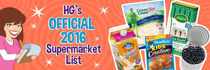Supermarket List 2016 (HG's Healthy Grocery Guide)