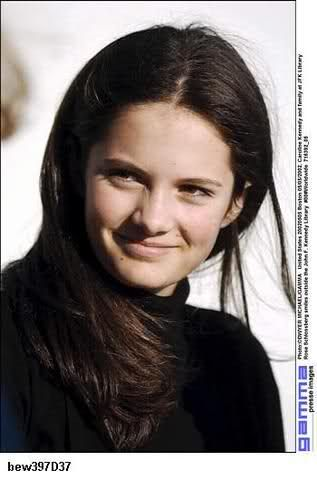 Rose Schlossberg. She looks the most like Jackie of her grandchildren