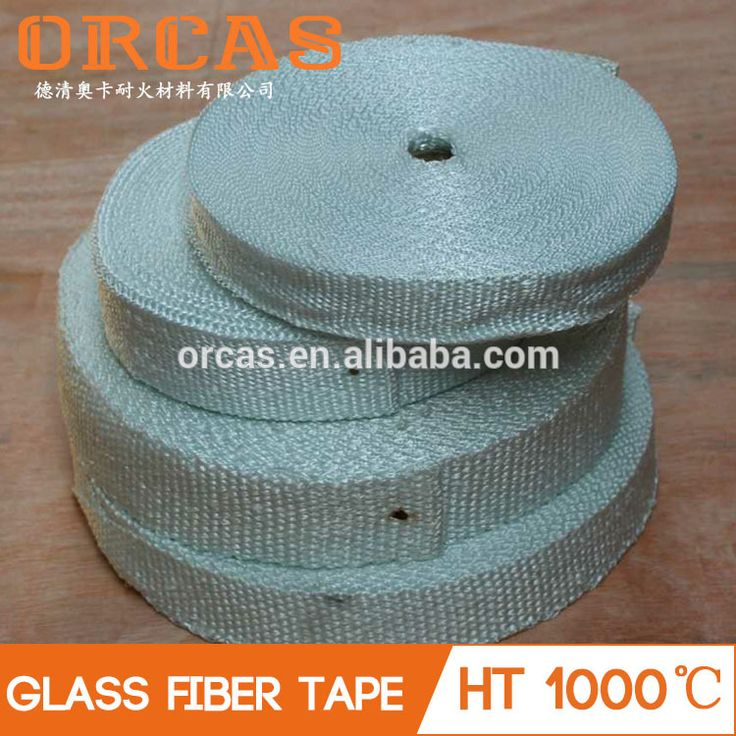 Orcas ducting insulation white fiber glass tape