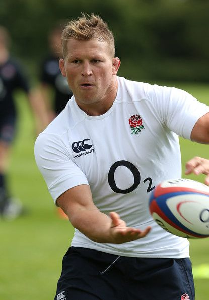 Dylan Hartley of England in action during the England training session at Loughborough University on August 12, 2013 in Loughborough, England.