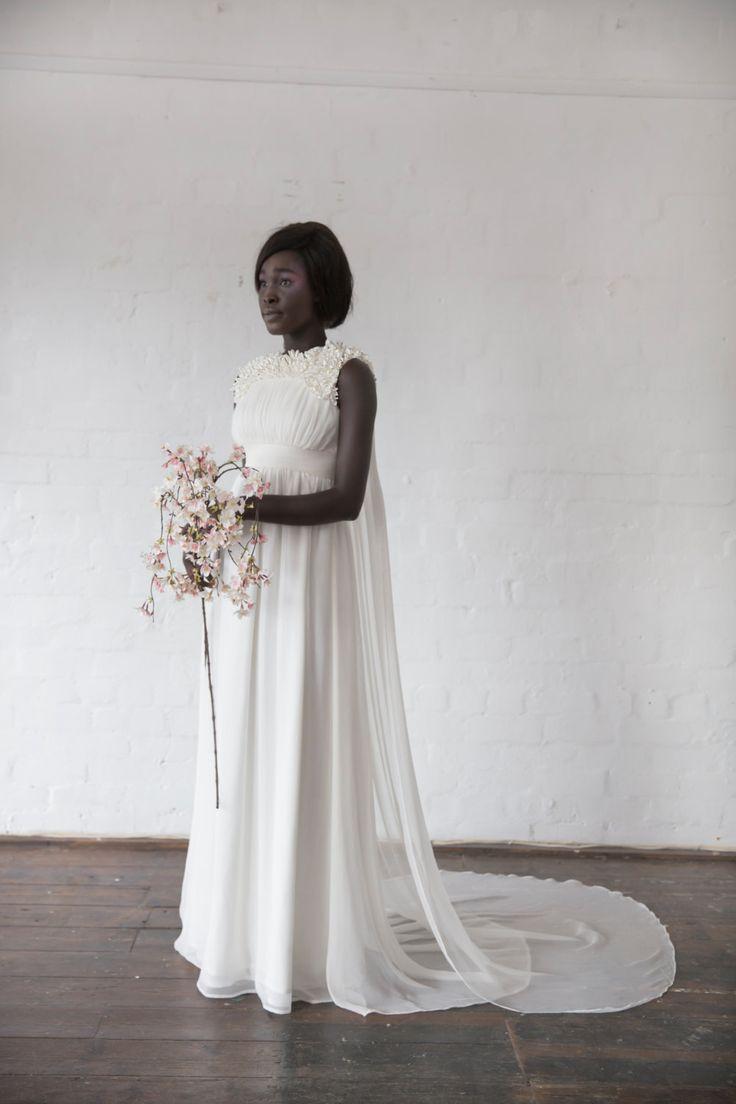 Shiba-sakura inspired wedding dress
