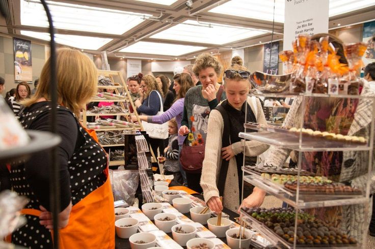 Schoc Chocolate at the New Zealand Chocolate Festival 2013 - Credit to Allan Carino