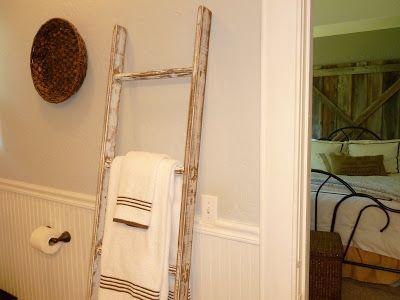 """our vintage home love: Build a """"Vintage"""" Ladder"""
