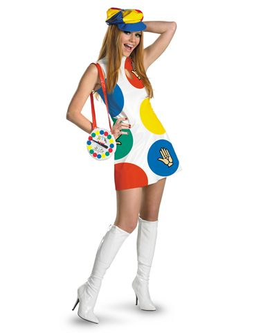 sassy twister adult womens costume fun and very sixties inspired in the words of austin powers yeah baby