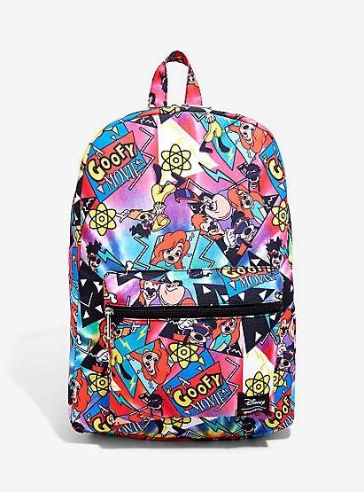 c485508d5a Loungefly Disney A Goofy Movie Print Backpack disney t