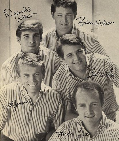 "On July 4, 1964, The Beach Boys started a two week run at #1 on the Billboard Hot 100 singles chart with ""I Get Around"". This was the group's first #1. Brian Wilson and Mike Love wrote the song, which is noteworthy for its back-to-front structure—it starts with a chorus and has two short verses. The ""B: side of the singles was another hot Beach Boys tune, ""Don't Worry Baby."""
