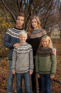 Sweater by Vedis Jonsdottir FREE PATTERN in sizes 8 years - adult XL