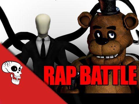 Slenderman Vs Freddy Fazbear Rap Battle by JT Machinima - YouTube