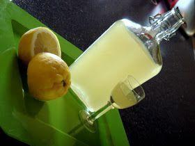 Kουζινάτσι: Λικέρ λεμόνι