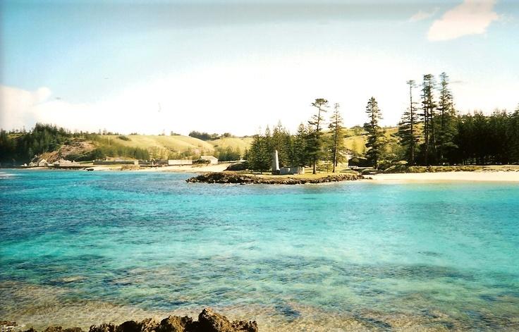 Beautiful Emily Bay 2002 Norfolk Island.