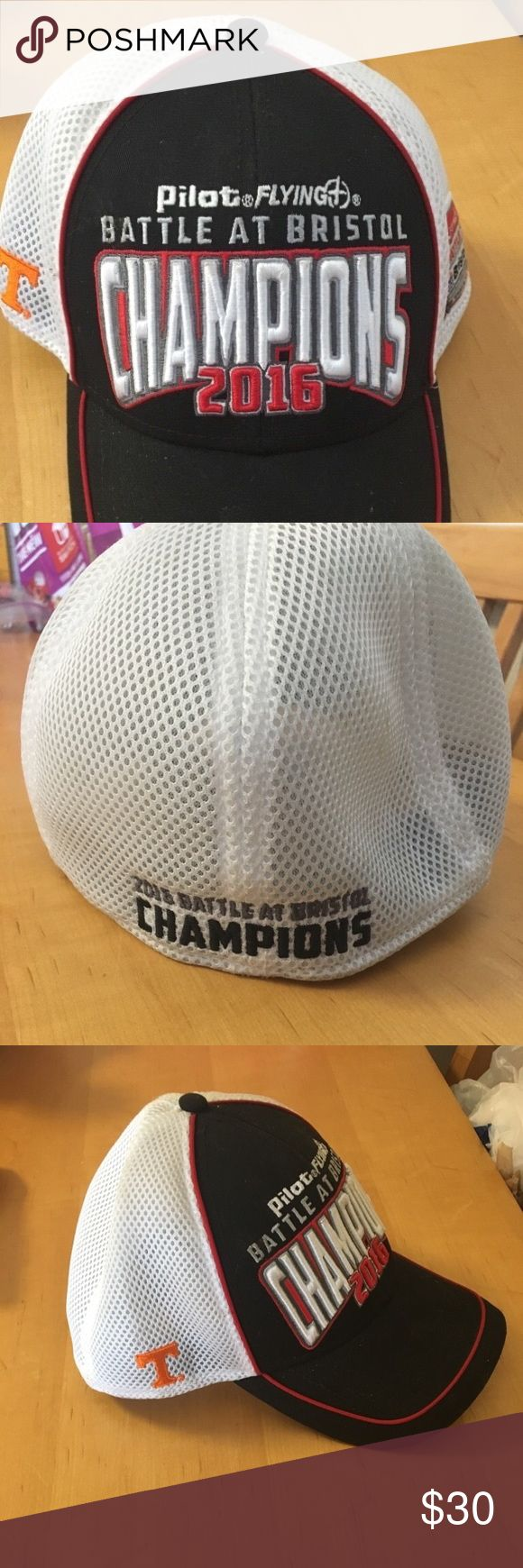 Championship Tennessee Vols Battle at Bristol Hat! Brand new without tags! Collectible item! From the September 2016 Battle At Bristol at Bristol Motor Speedway! Accessories Hats