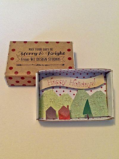 matchbox christmas cards