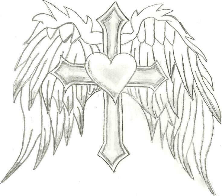 free angel wings coloring pages - photo#16