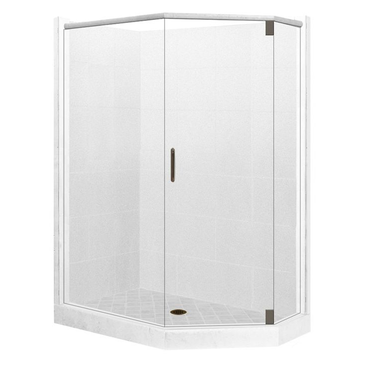 corner shower kits 36 x 36. American Bath Factory Monterey Light Sistine Stone Wall Composite  Floor Neo Angle 10 Piecener Shower Kit K N483680MO RC OB Best 25 Corner shower kits ideas on Pinterest showers