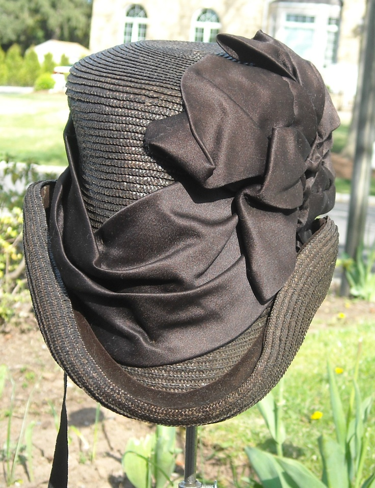 Rare Victorian Riding Hat. I would have worn this and rode up on a horse and showed up the men. lol