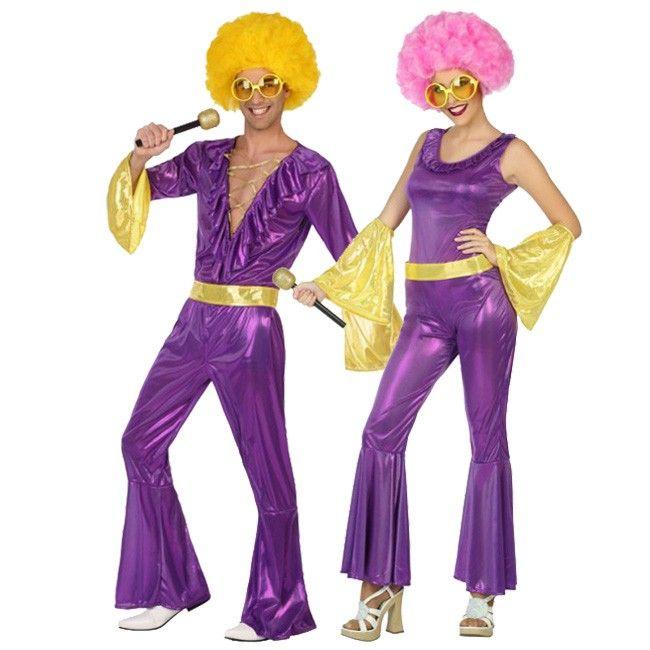 Achetez Déguisements Disco Violettes #déguisementscouples #nouveauté2017