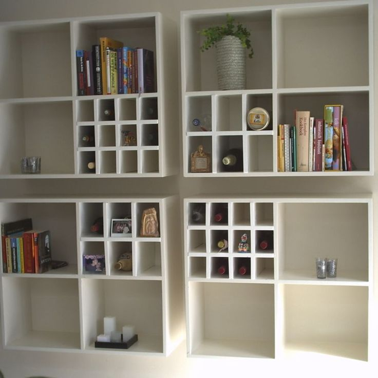 boekenkast: spelen met indelingen