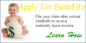 short term disability benefits during maternity leave