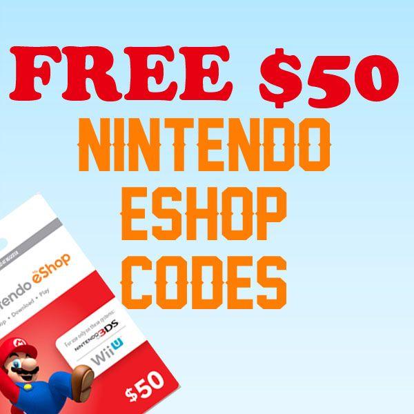 How to get free Nintendo eShop codes Free Nintendo Switch games Free