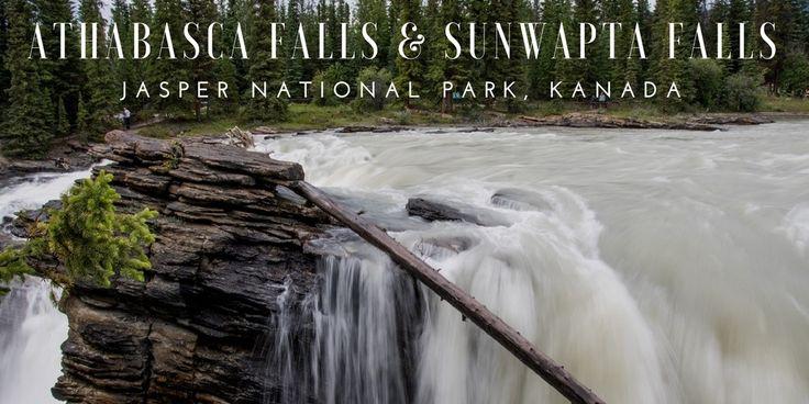 Kanadan Kalliovuorilla virtaava Athabasca-joki muuttuu kahdessa kohtaa pauhaaviksi vesiputouksiksi. Tällaisia ovat Athabasca Falls ja Sunwapta Falls