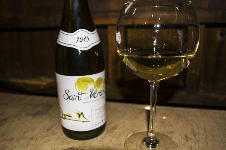 Notre Saint Véran 2013, vin blanc du Mâconnais