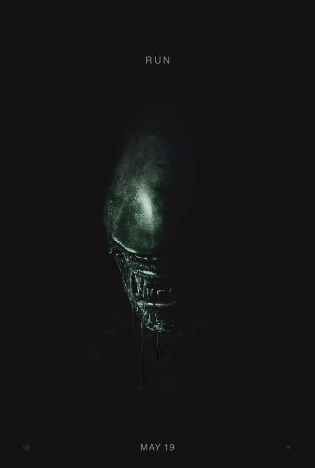 Un monstre menaçant sur le poster d'Alien: Covenant