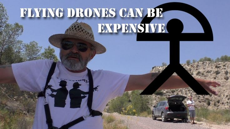 Flying drones can be expensive