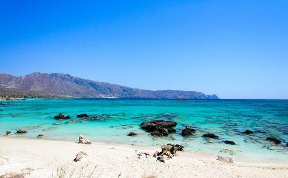 10 visites immanquables en Crète - Élafonissi