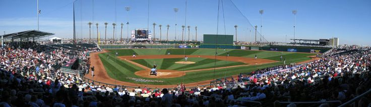 Goodyear Arizona ball park. Indians and Reds spring training
