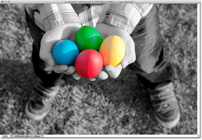 selective coloring photoshop tutorial