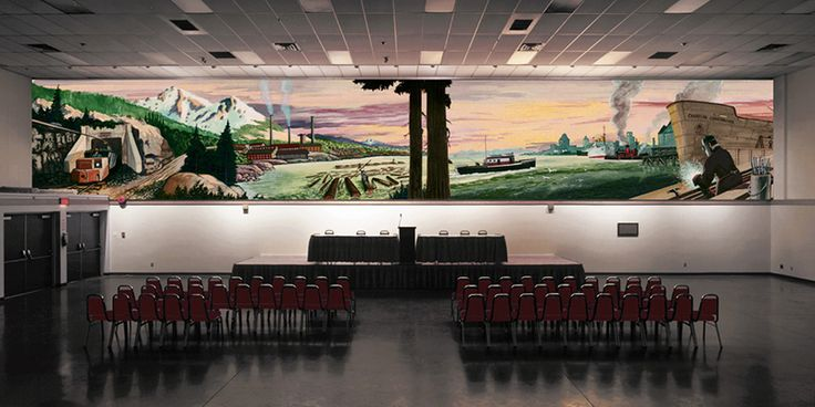Fraser Wilson Mural (Photo by Sean Griffin) | 6 surviving vintage murals in Vancouver
