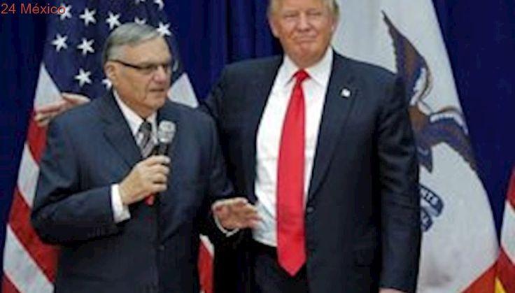 Trump indulta al alguacil Joe Arpaio