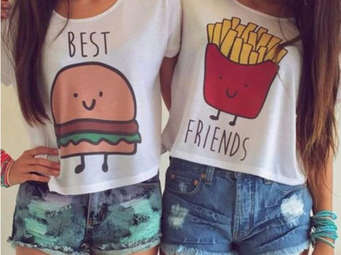 19 Matching Best Friend Shirts & Accessories That Aren't Cheesy At All | Bus…