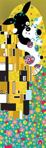 """""""Le Baiser"""" d'apres Klimt"""