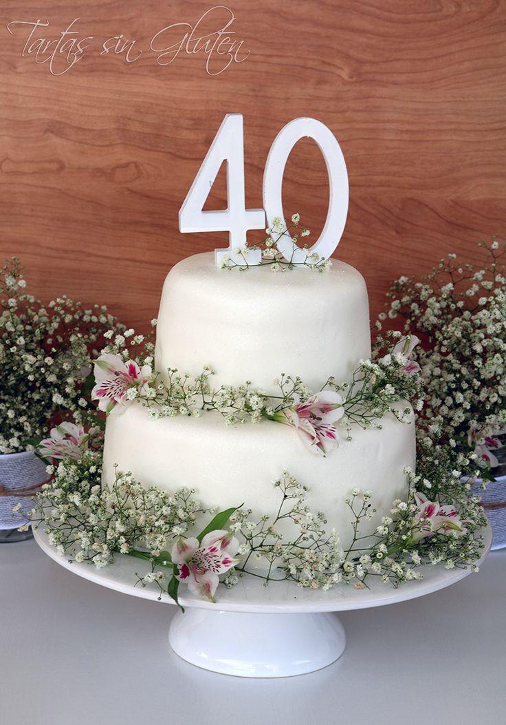 Tartas sin Gluten .....365 dias sin gluten: Tarta Fondant 40 (Dulce de leche y…