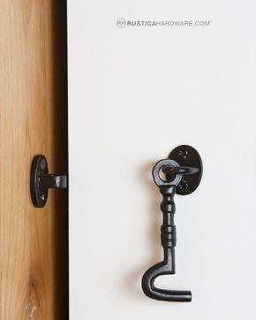 Barn Door Hardware Locks