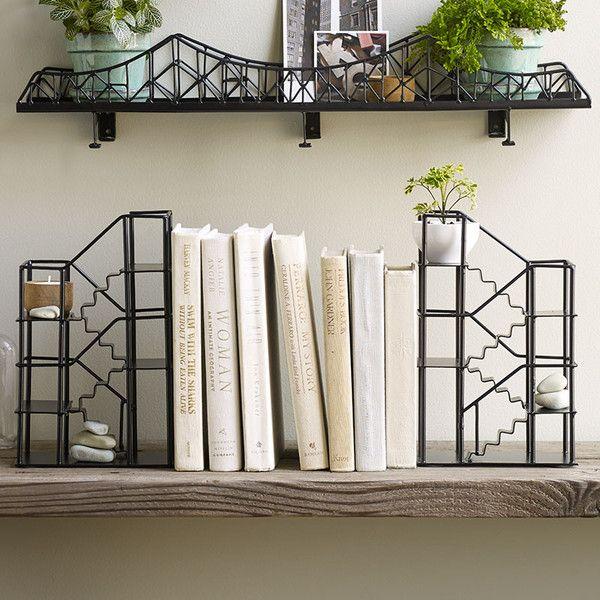 Stairways Bookends Shelf by Design Ideas