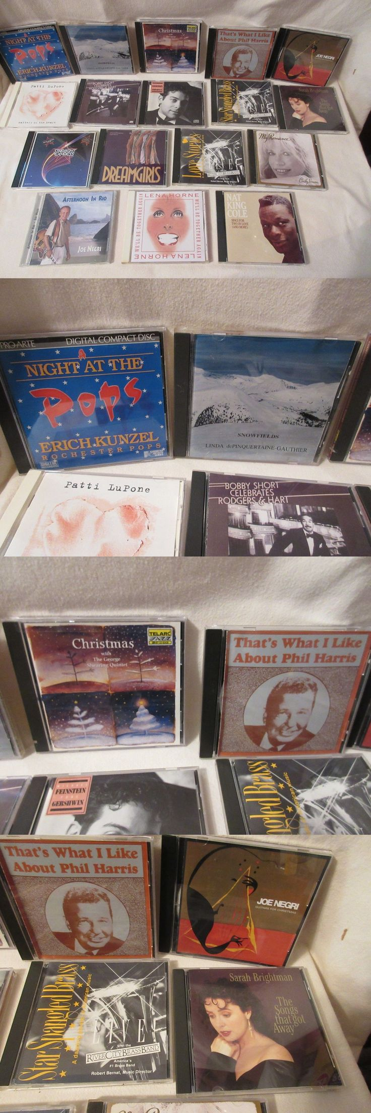 Christmas Songs And Album: Lot Of 17 Mixed Music Cds Nat King Cole, Christmas, Brass Band More Clean Nr -> BUY IT NOW ONLY: $0.99 on eBay!
