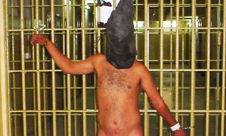 US soldiers at Abu Ghraib were shown to have part in acts of sexual depravity, other deliberate humiliations and illegal interrogations. In all, 17 soldiers and officers were suspended from duty in the wake of the scandal, and 11 were charged with maltreatment and other offences, court-martialled, sentenced to military prison, and dishonourably discharged. Two soldiers who appeared in the photos, Lynndie England and Charles Graner, were sentenced to three and 10 years respectively.