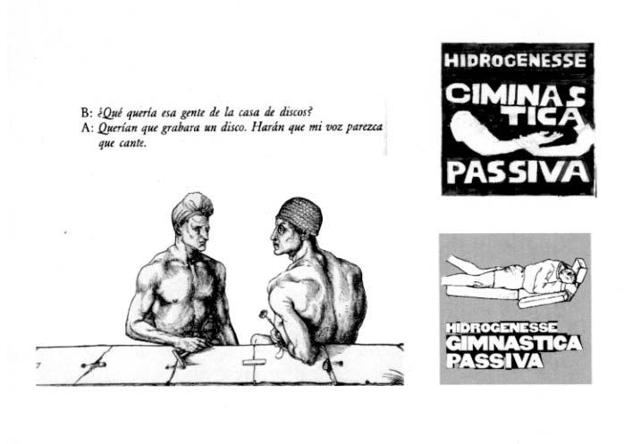 GIMNASTICA PASSIVA fanzine reissue!!! (Hidrogenesse)