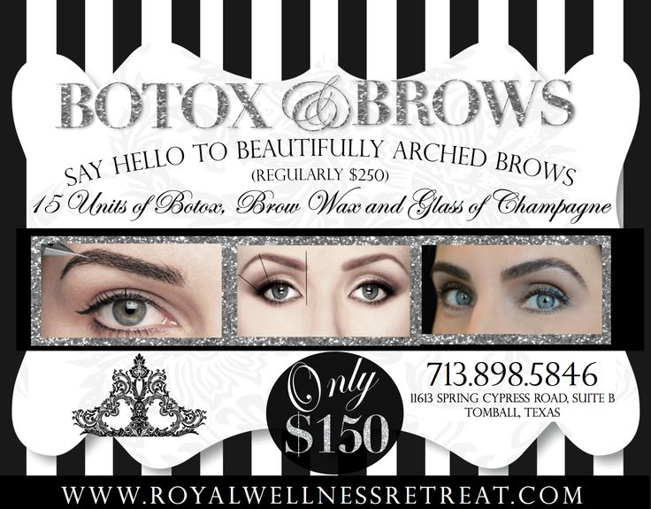 There are several muscle groups which work to move the brow. A a set which moves the brows up and a set which moves the brows down - by selectively injecting the muscles which move the brow down, there is unopposed action of the muscles which move the brow up.   Hence - a brow lift.  www.royalwellnessretreat.com
