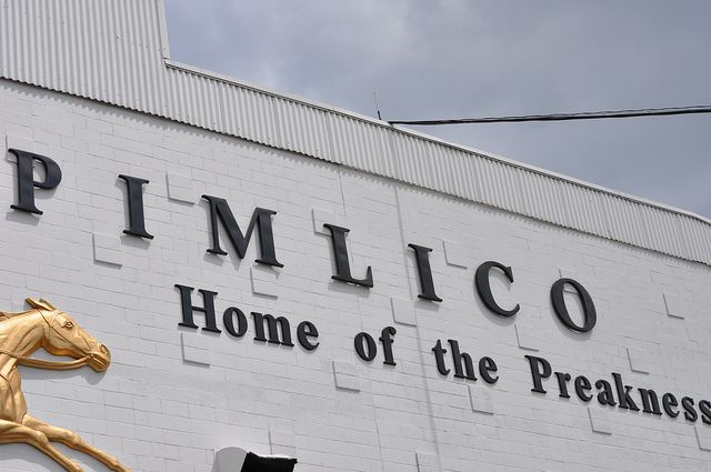 Pimlico Race Track  Baltimore Maryland  Photo by me(Elaine Kucharski)