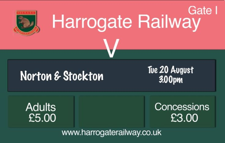 An hour to go before kick-off in the Emirates FA Cup tie against Norton & Stockton    @therailfc