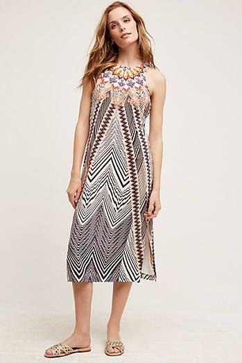 Solstice Silk Dress